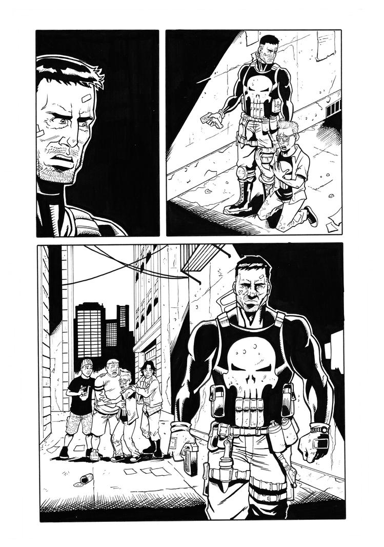 Punisher Sample Page 3 by reinaldolay