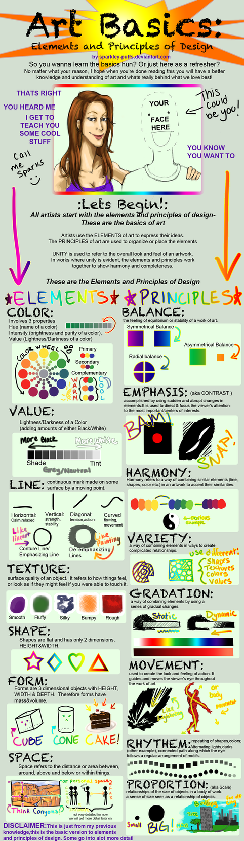 3 Elements Of Art : Elements principles of design by thecuddlykoalawhale on