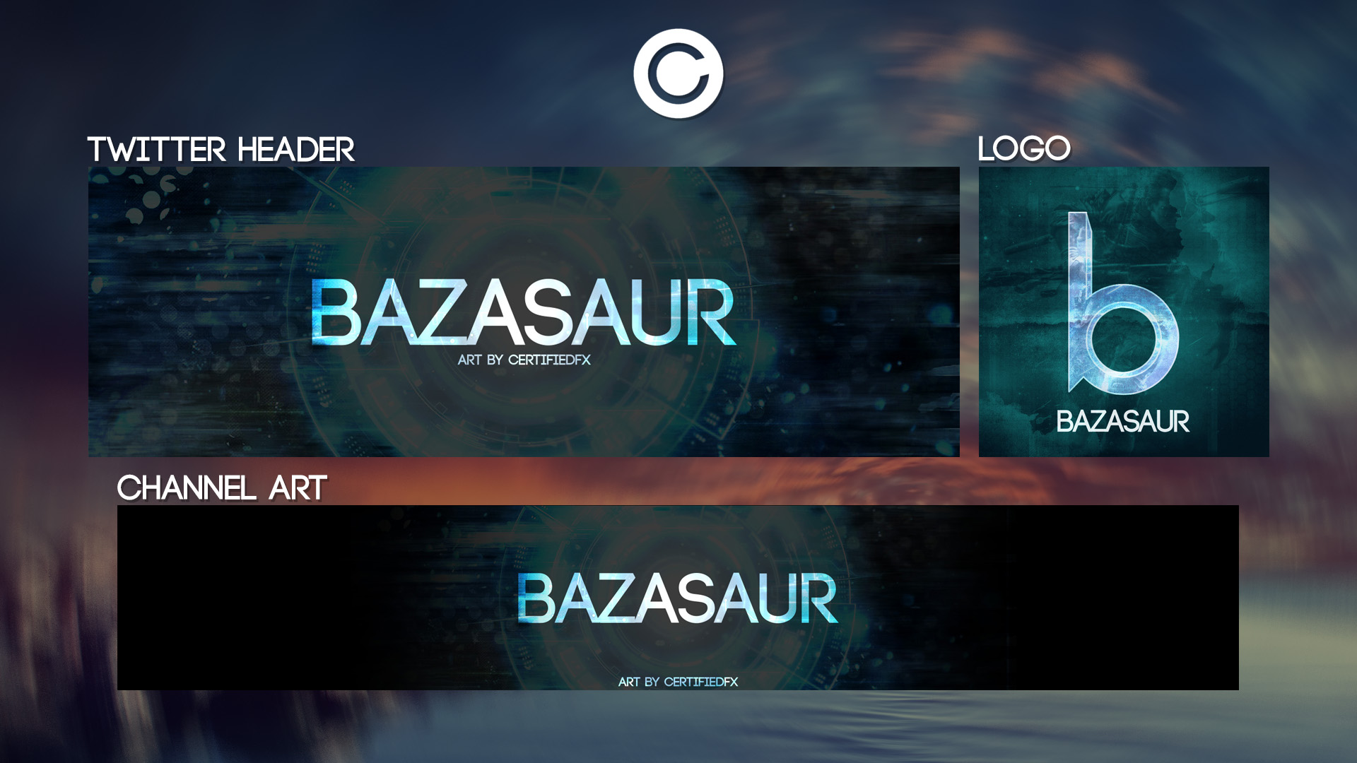 Channel Revamp | Bazasaur by CertifiedFX