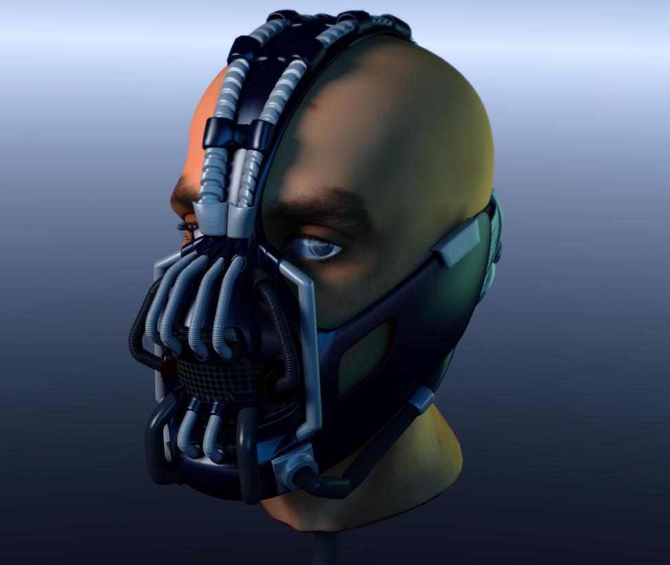 Bane Mask by wolfsonia1