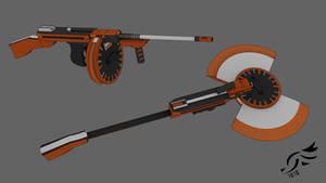 'Hazard Bandit' - RWBY OC Weapon