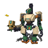 Overwatch - Bastion and Bastnyan by DenalCC1010