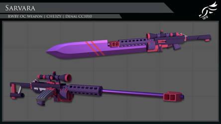'Sarvara' - RWBY OC Weapon (Commission)