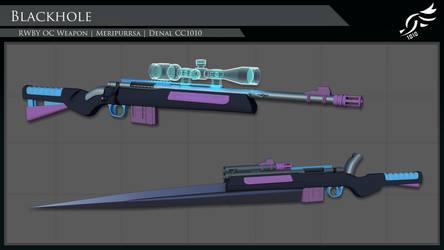 'Blackhole' - RWBY OC Weapon (Commission)