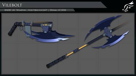 'Vile Bolt' - RWBY OC Weapon (Commission)