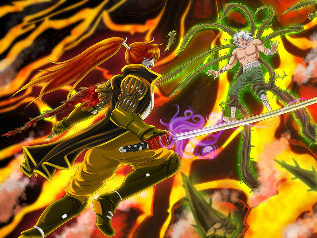 FIGHT Kojima vs Ezekiel by rounindx