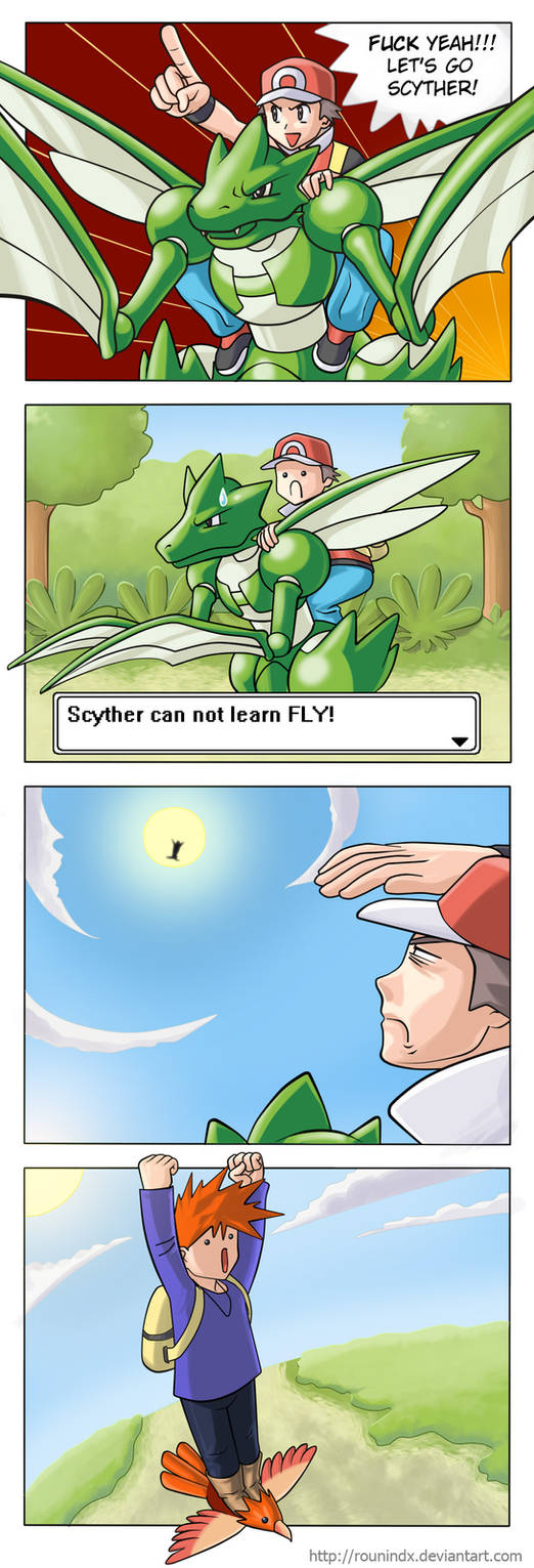 My tribute - Scyther can't fly