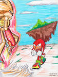 Mecha Sonic vs knuckles Old