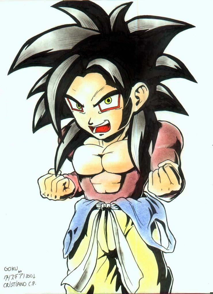 Goku Pequeno By Rounindx On Deviantart