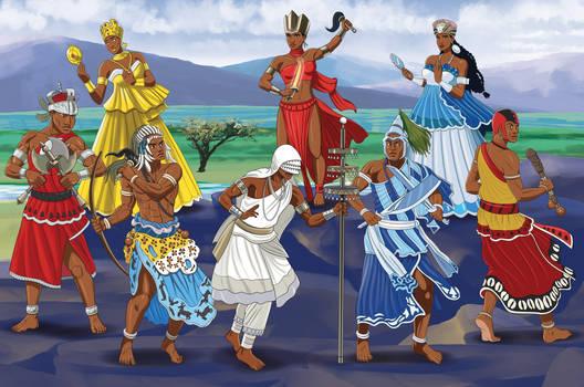 Orixas African Gods