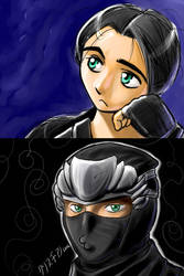 Ninja Gaiden xD by rounindx