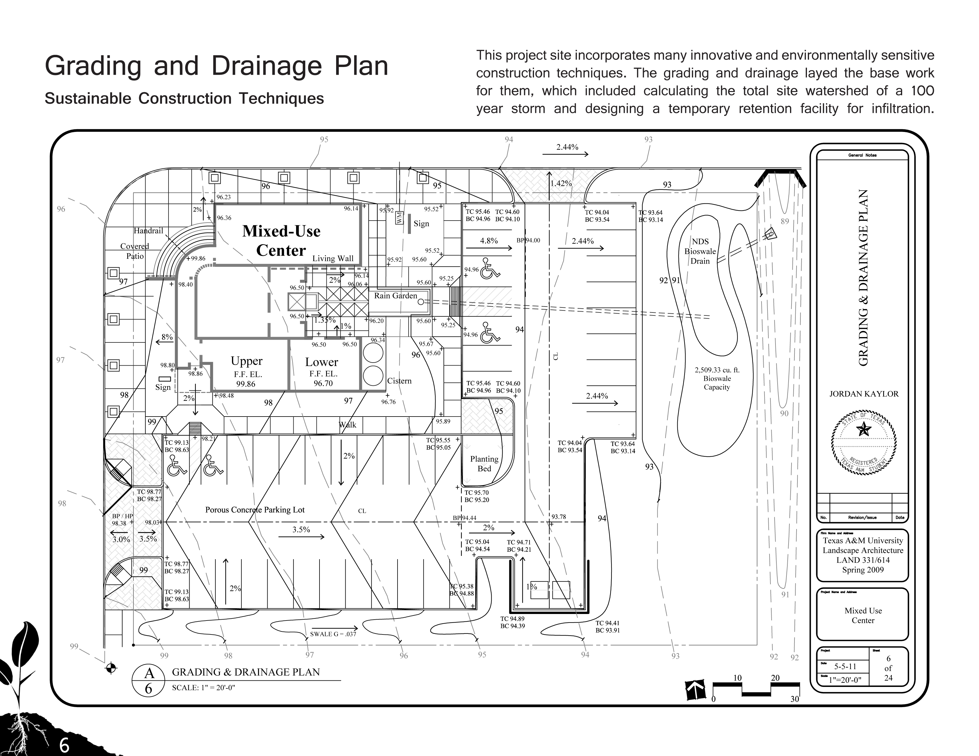 Grading and Drainage Plan by JordanKaylor on DeviantArt – Site Grading Plan