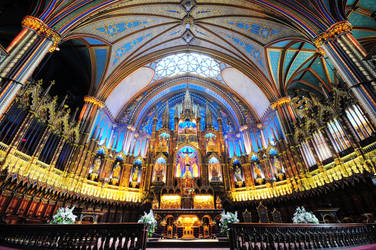 Notre Dame Montreal by rh89