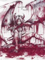 Bloody Demon Women by 00chalcedony00