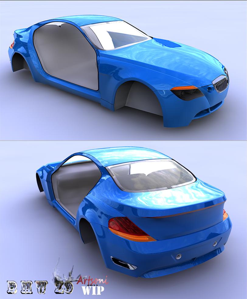 Bmw Z9: BMW Z9 WiP By Artsoni On DeviantArt
