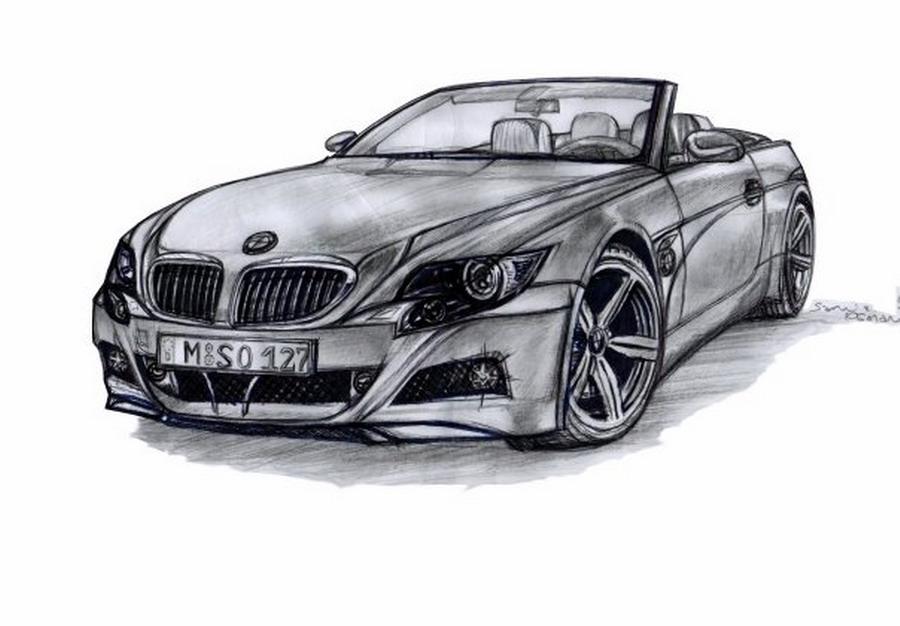 Bmw Design drawing by artsoni on DeviantArt