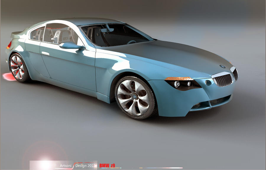 Final BMW z9 -Studio by artsoni