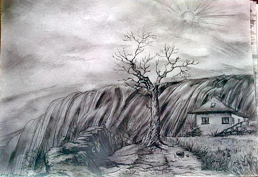 Fantasy Landscape Drawing | www.pixshark.com - Images ...