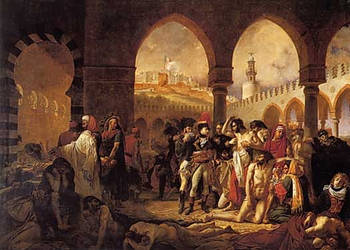 Albanians defending the Palestine in March 7 1799 by artsoni