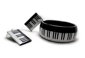 La Piano jewelry set by BeautySpotCrafts