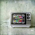 TV brooch