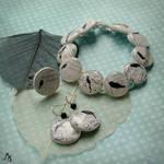 Bird's song jewelry set
