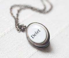 Ironical locket by BeautySpotCrafts