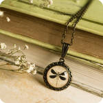 Petite Dragonfly Necklace
