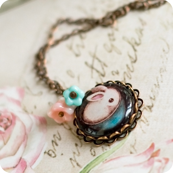 rings&pop--OPEN The_Cutest_Rabbit_necklace_by_BeautySpotCrafts