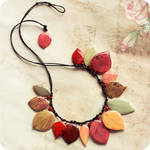 Melody of Fall necklace