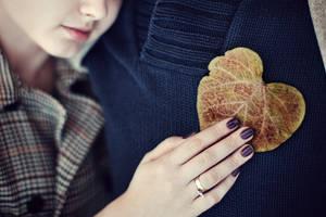 Autumn heart by BeautySpotCrafts