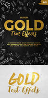 Gold Text Effects Vol.1