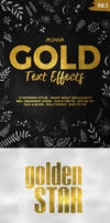 Gold Text Effects Vol.3
