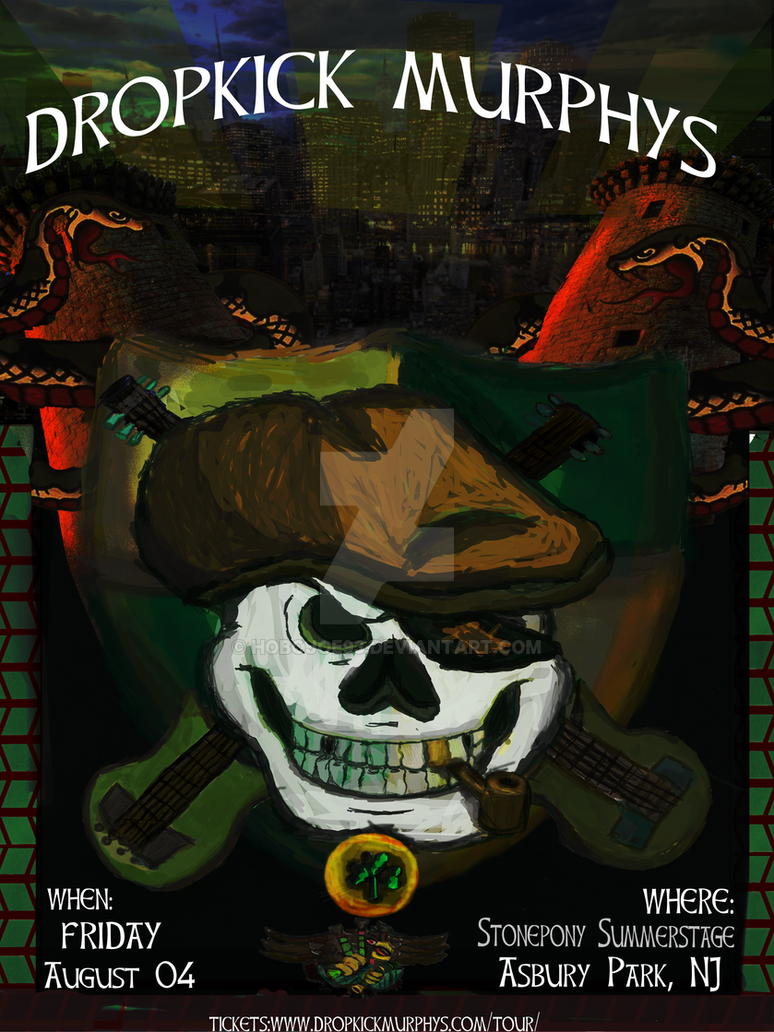 Dropkick Murphy Unofficial Poster by hobojoe93