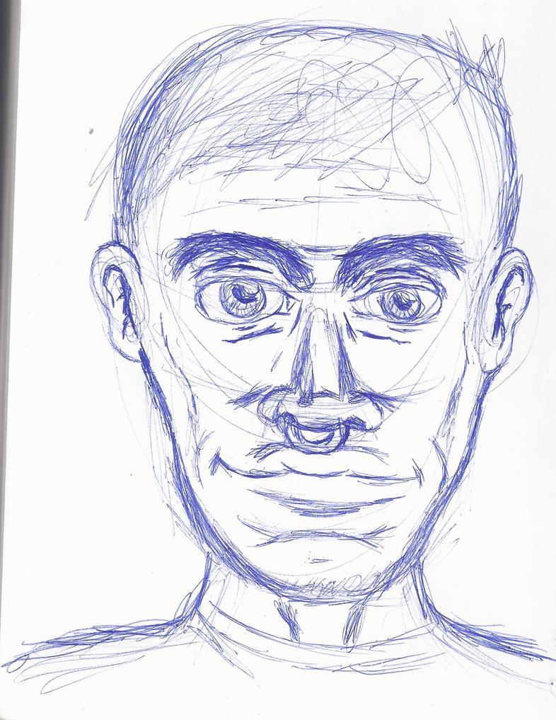 Sketchbook Showcase-Human Profile by hobojoe93