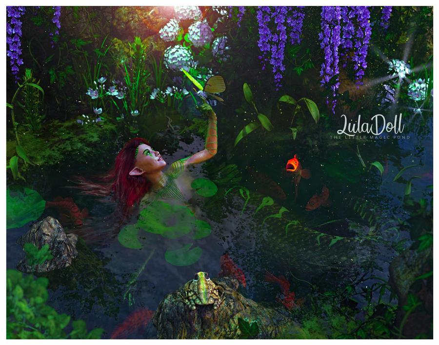 The little magic pond