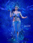 Queens of the Elements  WATER by LulaDoll