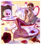 Rose tea by LulaDoll