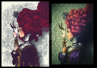 two Styles by dokinana