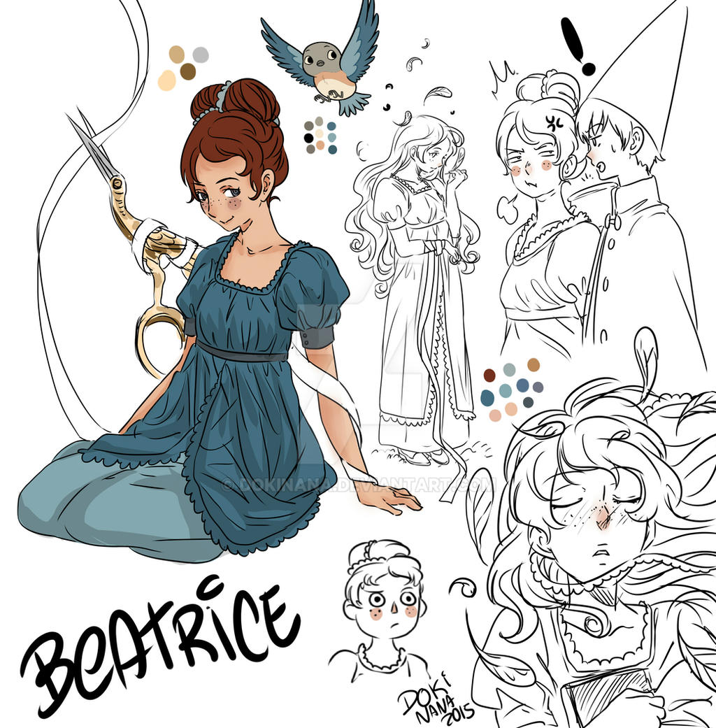 Beatrice By Dokinana On Deviantart