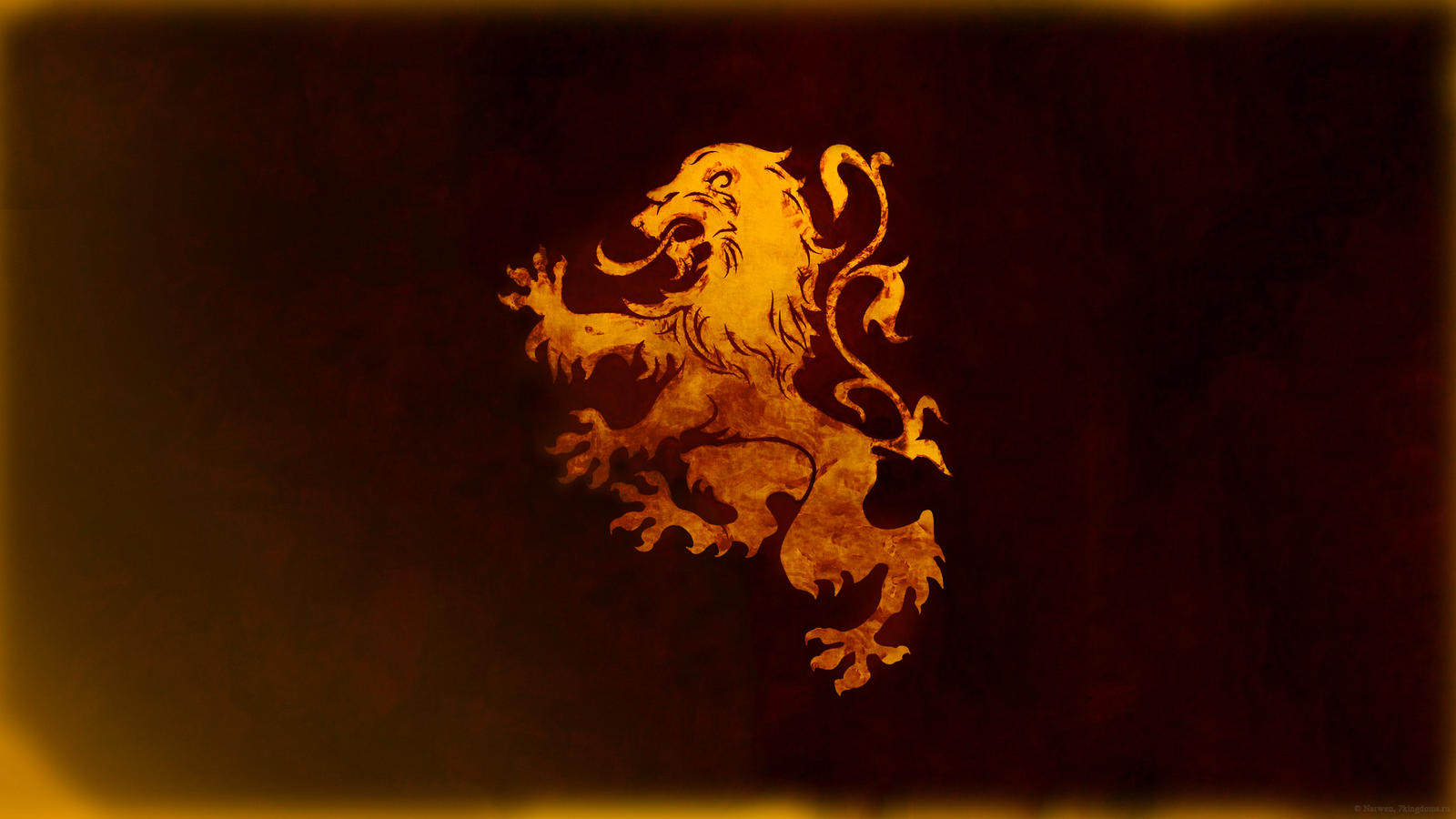 The Regal Lion - House Lannister Wallpaper 1/3 by ...
