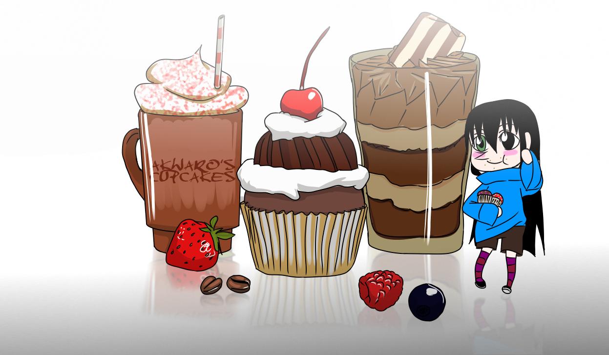 Cute Cupcakes Wallpaper by tahonard