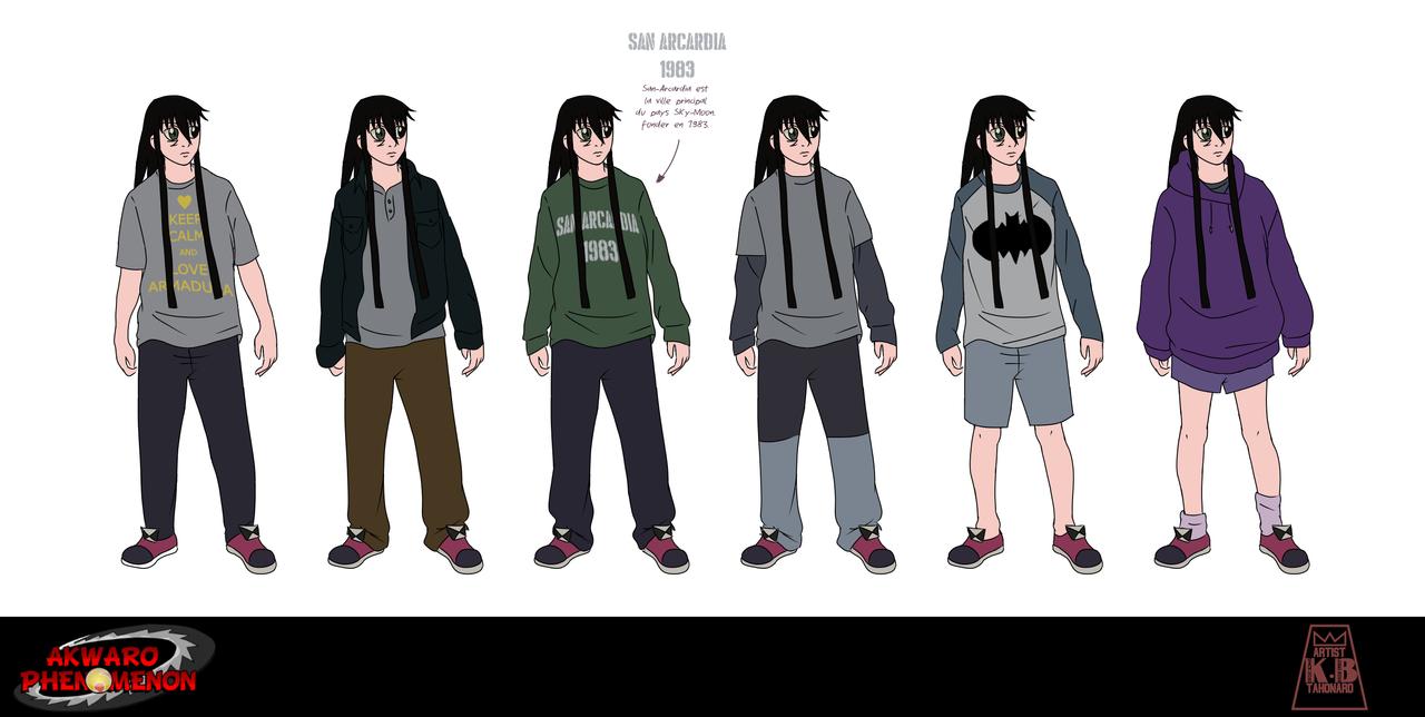 Akwaro's clothes # 1 by tahonard