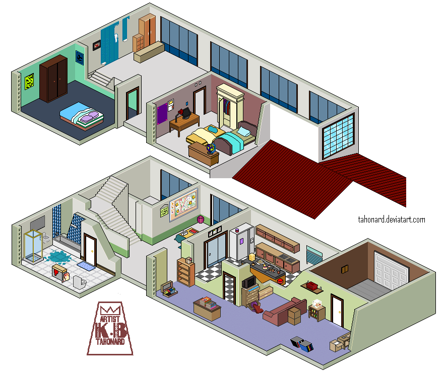 House Sarad Home V2 Pixel (2018) by tahonard