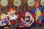 One Piece 902 - Young Charlotte Family
