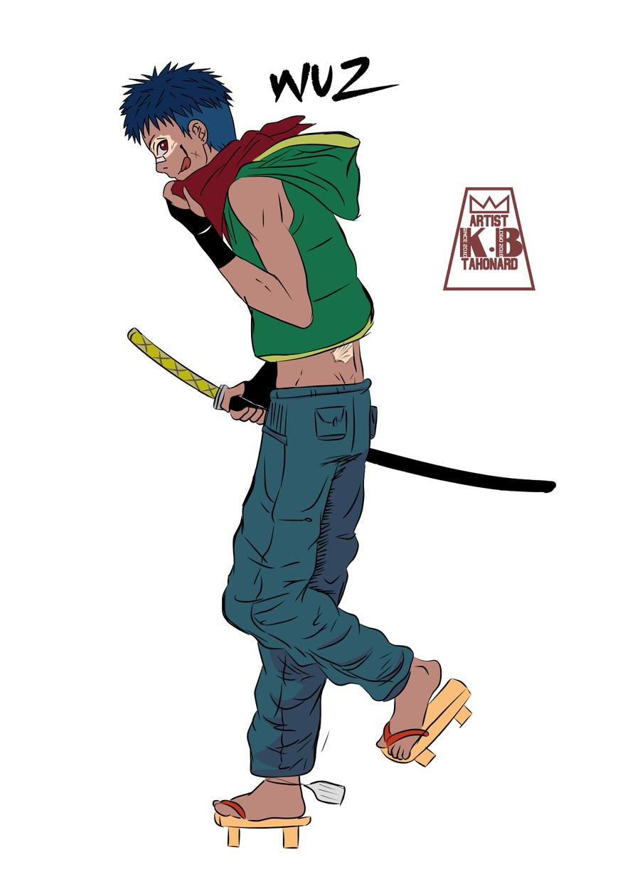 New Character Wuz by tahonard