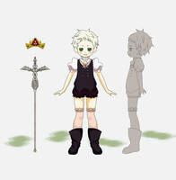 Character Design Evan by tahonard