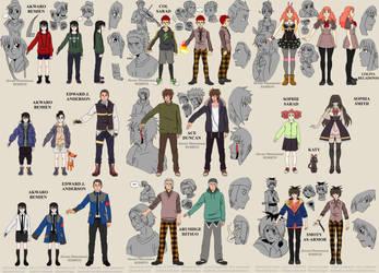 Character Design | Akwaro Phenomenon REBIRTH by tahonard