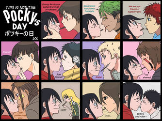 This is Not The Pocky's Day! :D by tahonard
