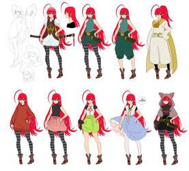 Lucifer clothings (full) by tahonard